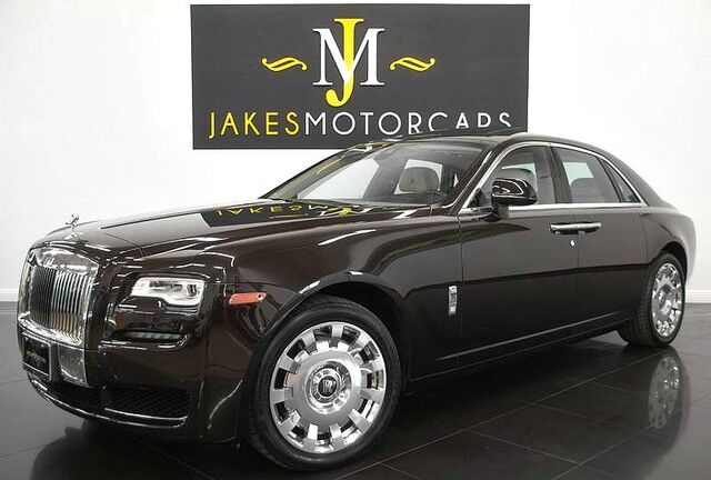 2015 Rolls-Royce Ghost ($334,825 MSRP) *REAR THEATRE* *INDIVIDUAL SEATING CONFIGURATION San Diego CA