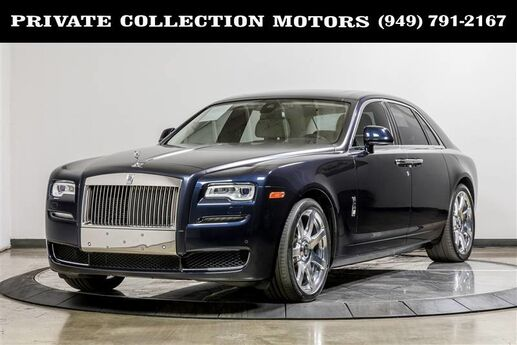 2015 Rolls-Royce Ghost MSRP $335,365 Costa Mesa CA