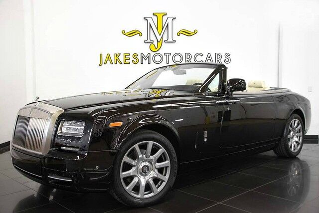 2015 Rolls-Royce Phantom Coupe Drophead Convertible ($511,800 MSRP) San Diego CA