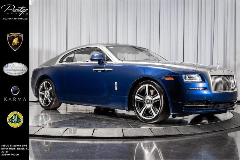 2015_Rolls-Royce_Wraith__ North Miami Beach FL