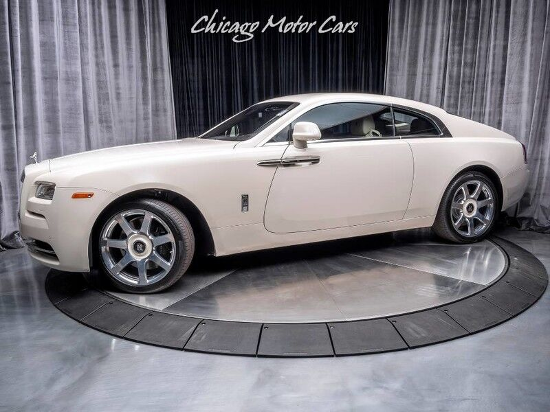 2015_Rolls-Royce_Wraith_Coupe MSRP $383k+ Only 3k Miles!_ Chicago IL
