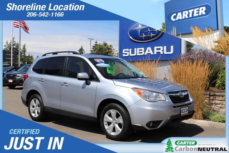 2015 Subaru Forester 2.5i Limited Seattle WA