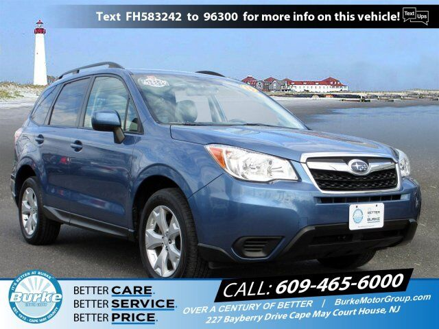 2015 Subaru Forester 2.5i Premium Cape May Court House NJ