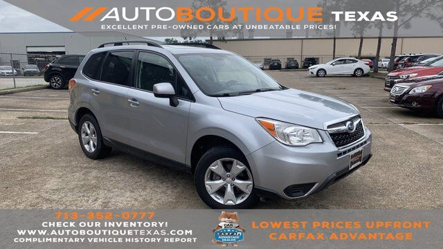 2015 Subaru Forester 2.5i Premium Houston TX