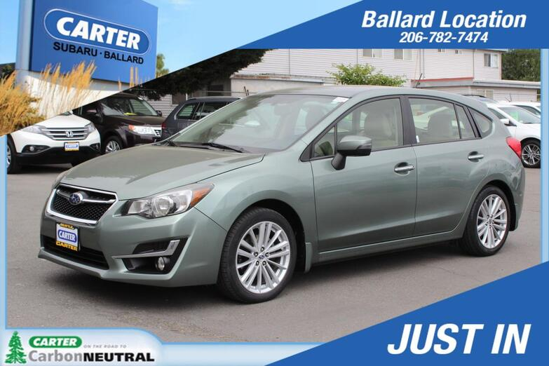 2015 Subaru Impreza Wagon 2.0i Limited Seattle WA