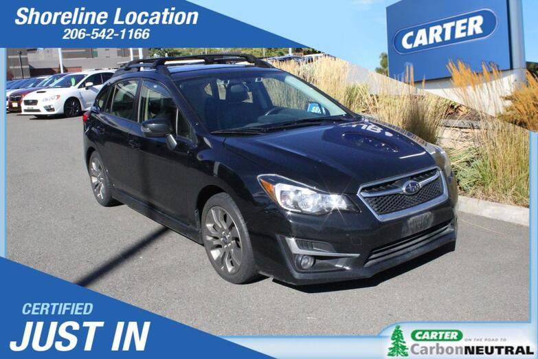 2015 Subaru Impreza Wagon 2.0i Sport Limited Seattle WA