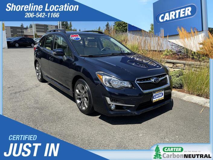 2015 Subaru Impreza Wagon 2.0i Sport Premium Seattle WA