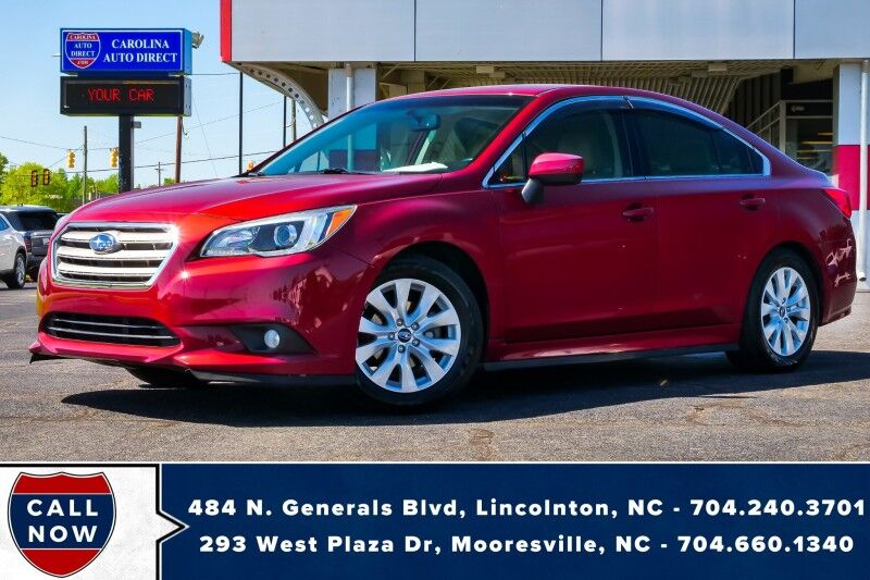 2015 Subaru Legacy 2.5i Premium AWD w/ Heated Front Seats & Back-Up Camera Mooresville NC