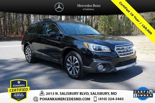 2015_Subaru_Outback_2.5i Limited AWD ** Certified 10 Year / 100,000  **_ Salisbury MD