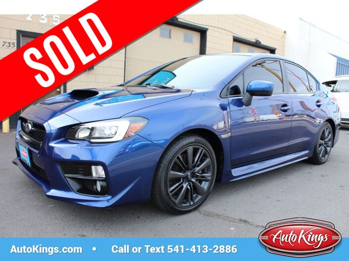 2015 Subaru WRX Limited Bend OR