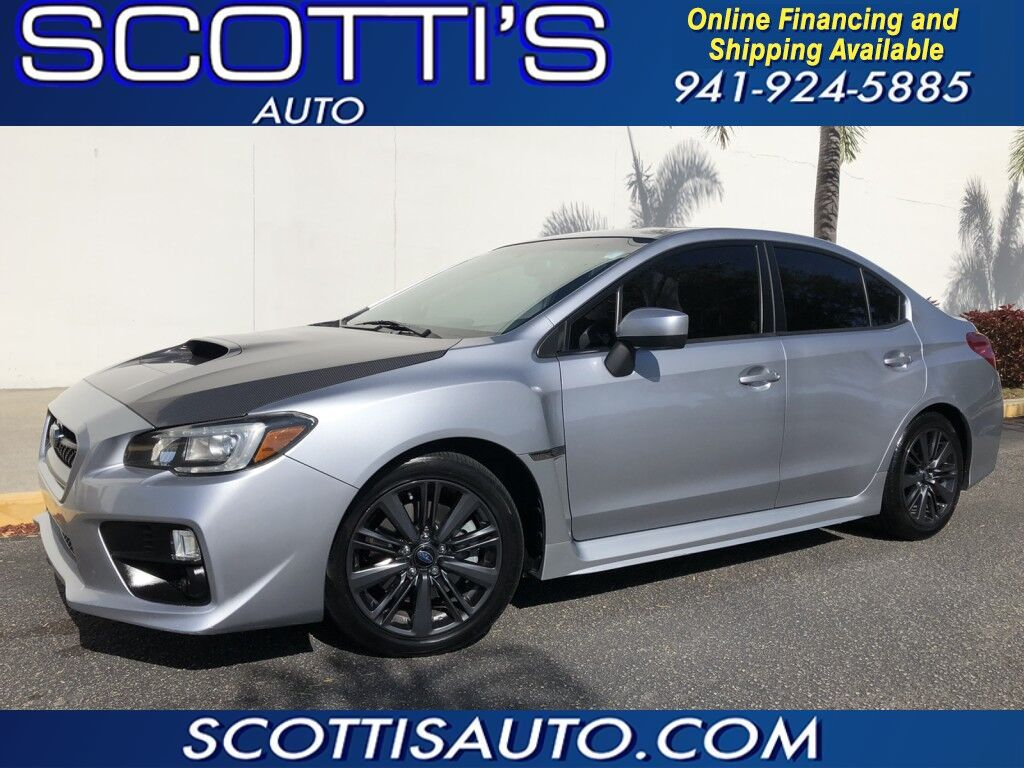 2015 Subaru WRX Limited~ ICE SILVER METALLIC~ BLACK LEATHER~ SUNROOF~ LOOKS AND RUNS GREAT! WE OFFER ONLINE FINANCE AND SHIPPING! CONTACT US TODAY! Sarasota FL