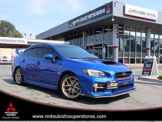 2015 Subaru WRX STI Launch Edition Costa Mesa CA