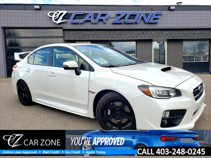 2015 Subaru WRX STI w/Sport Pkg, Sunroof, Warranty Available Calgary AB