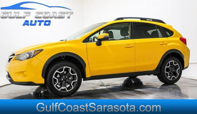 2015 Subaru XV CROSSTREK PREMIUM YELLOW AWD CAMERA LOW MILES CLEAN Sarasota FL