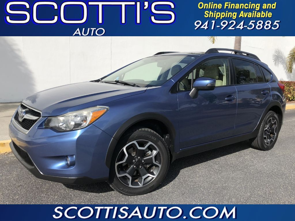 2015 Subaru XV Crosstrek Limited~ ALL WHEEL DRIVE~ LOADED!~ NAVIGATION~ CAMERA~ CLEAN~ ONLINE FINANCE AND SHIPPING! AVAILABLE! Sarasota FL