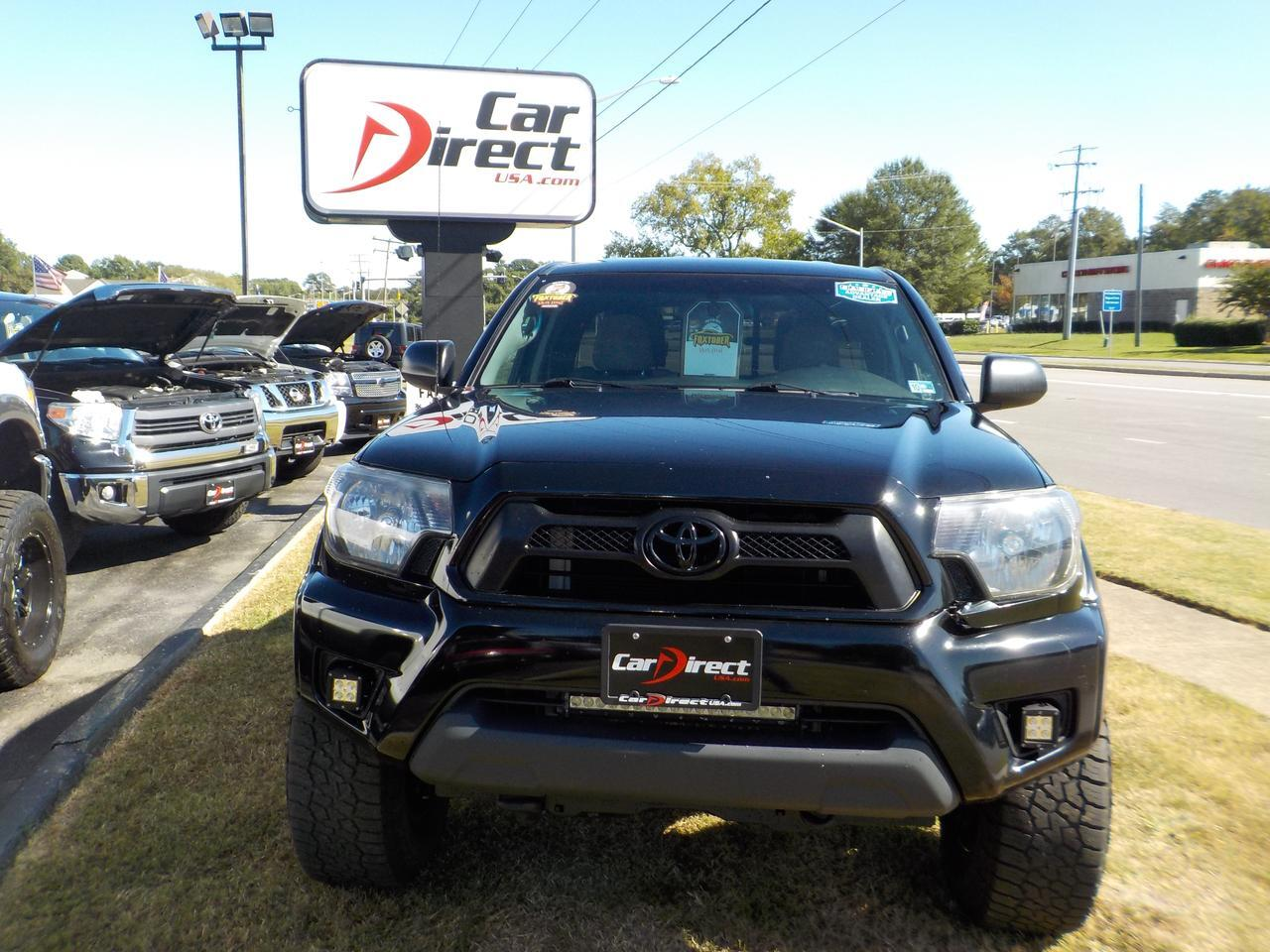 2015 TOYOTA TACOMA TRD PRO OFF ROAD 4X4, ONE OWNER, CUSTOM HELO RIMS, BLUETOOTH, FENDER FLARES! Virginia Beach VA