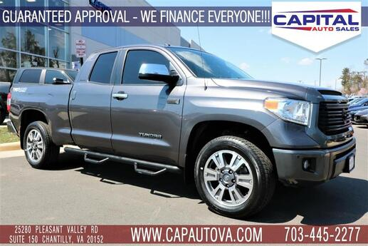 2015 TOYOTA TUNDRA 4WD TRUCK Limited Double Cab 5.7L 4WD Chantilly VA
