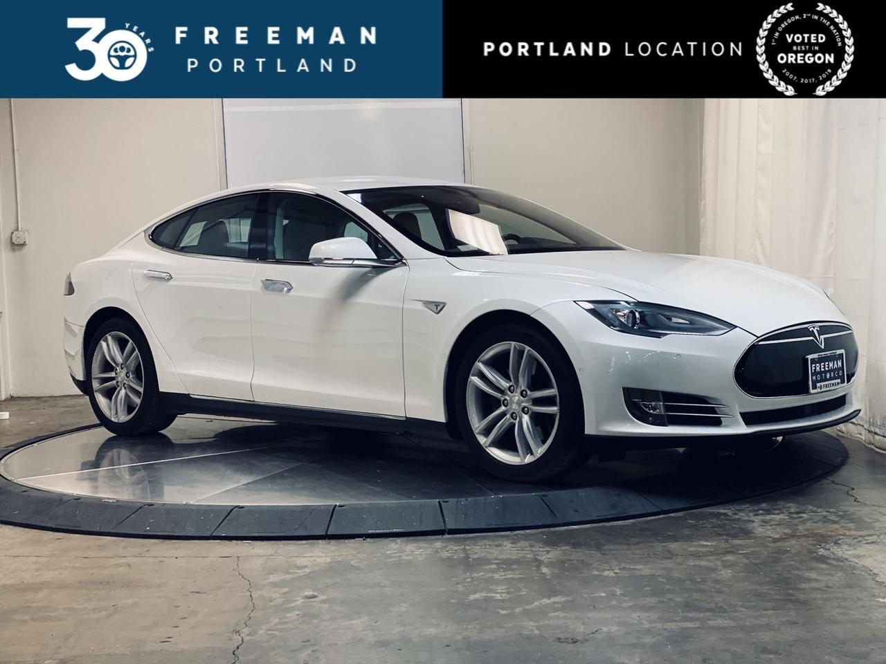 2015 Tesla Model S 70D AutoPilot Htd Seats Low Miles Portland OR