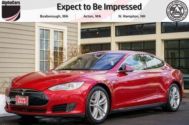 2015_Tesla_Model S_70D_ Boxborough MA