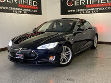 2015_Tesla_Model S_85D AWD AUTOPILOT NAVIGATION PANORAMIC ROOF REAR CAMERA LANE ASSIST SPEED A_ Carrollton TX