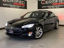 2015_Tesla_Model S_90D AWD AUTOPILOT COLD WEATHER PACKAGE NAVIGATION PANORAMIC ROOF SMART AIR_ Carrollton TX