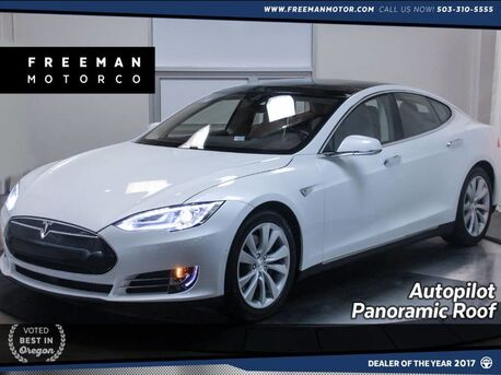 2015_Tesla_Model S_90D Autopilot Pano Auto Park Heated Seats_ Portland OR