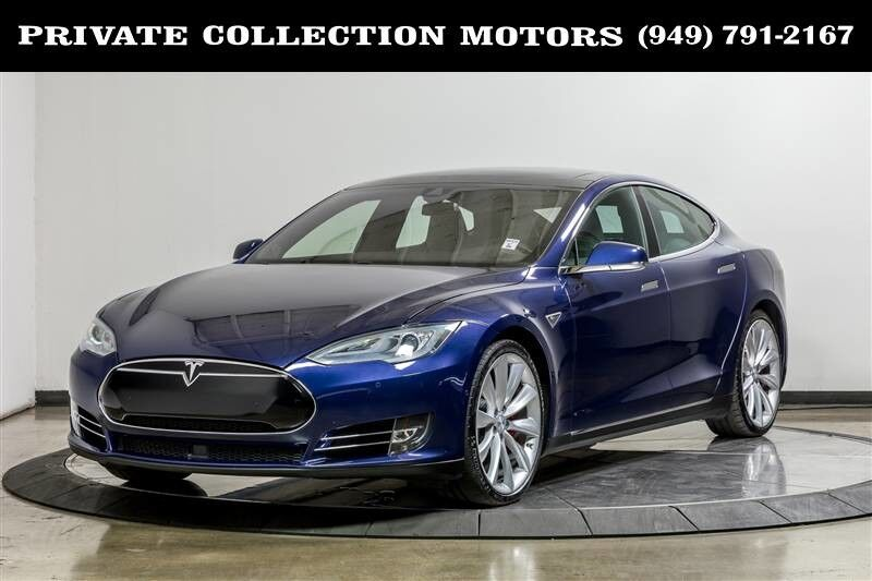 2015_Tesla_Model S_P85D Autopilot Insane+ $127,950 MSRP_ Costa Mesa CA