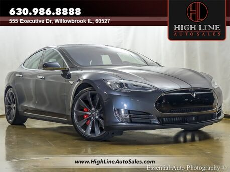 2015_Tesla_Model S_P90D_ Willowbrook IL