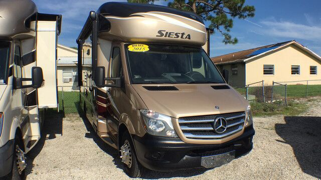 2015 Thor Siesta 24SA Mercedes Diesel 1 SLIDE Sleeps 6