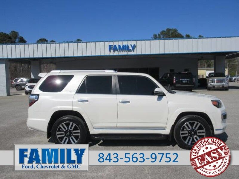 2015 Toyota 4Runner 4WD 4dr V6 Limited (Natl) Saint George SC