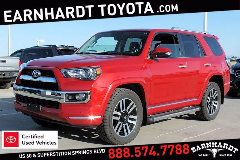 2015 Toyota 4Runner Limited 4WD *1-OWNER!* Mesa AZ