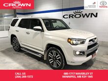 2015_Toyota_4Runner_Limited 7 Pass 4WD / Manitoba Vehicle / One Owner / Local / Clean Carproof / Great Value_ Winnipeg MB