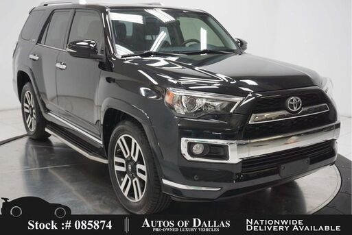 2015_Toyota_4Runner_Limited NAV,CAM,SUNROOF,CLMT STS,PARK ASST,20IN WH_ Plano TX