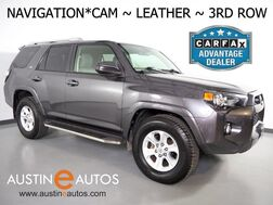 2015_Toyota_4Runner SR5_*NAVIGATION, BACKUP-CAMERA, TOUCH SCREEN, LEATHER, 3RD ROW SEATING, RUNNING BOARDS, TOW PKG, BLUETOOTH PHONE & AUDIO_ Round Rock TX