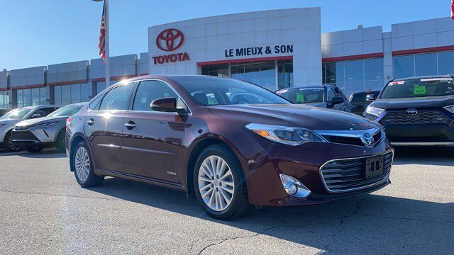 2015 Toyota Avalon Hybrid Limited Green Bay WI