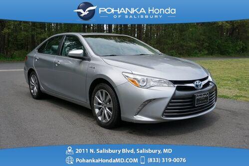 2015_Toyota_Camry Hybrid_SE ** SUNROOF ** Pohanka Certified 10 Year / 100,000_ Salisbury MD