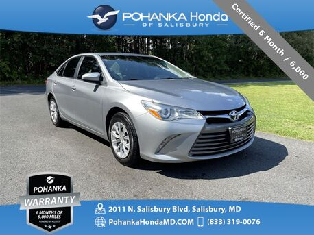 2015_Toyota_Camry_LE ** Certified 6 Month / 6,000 **_ Salisbury MD