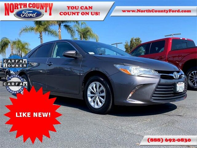 2015 Toyota Camry LE San Diego County CA