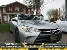2015_Toyota_Camry_LE$66Wk Backup Bluetooth/AUX/USB ManuWarr_ London ON