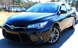 2015_Toyota_Camry_SE - w/ BACK UP CAMERA & LEATHER SEATS_ Lilburn GA