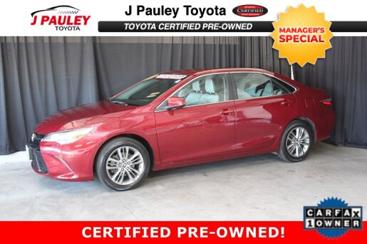 2015_Toyota_Camry_SE_ Fort Smith AR