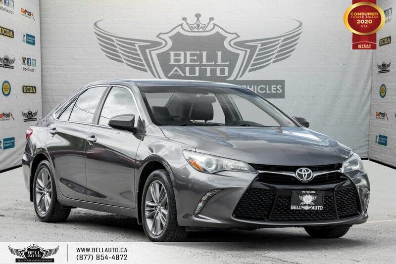 2015 Toyota Camry SE, NO ACCIDENT, REAR CAM, ALLOY, BLUETOOTH