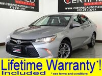 Toyota Camry SE REAR CAMERA BLUETOOTH PADDLE SHIFTERS POWER LOCKS POWER DRIVER SEAT 2015