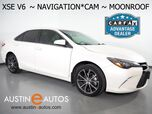 2015 Toyota Camry V6 XSE *NAVIGATION, BACKUP-CAMERA, MOONROOF, TOUCH SCREEN, LEATHER, HEATED SEATS, KEYLESS ENTRY/START, BLUETOOTH PHONE & AUDIO
