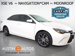 2015_Toyota_Camry V6 XSE_*NAVIGATION, BACKUP-CAMERA, MOONROOF, TOUCH SCREEN, LEATHER, HEATED SEATS, KEYLESS ENTRY/START, BLUETOOTH PHONE & AUDIO_ Round Rock TX