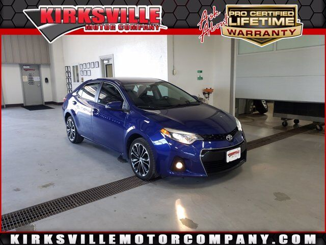 2015 Toyota Corolla 4dr Sdn CVT S Plus Kirksville MO