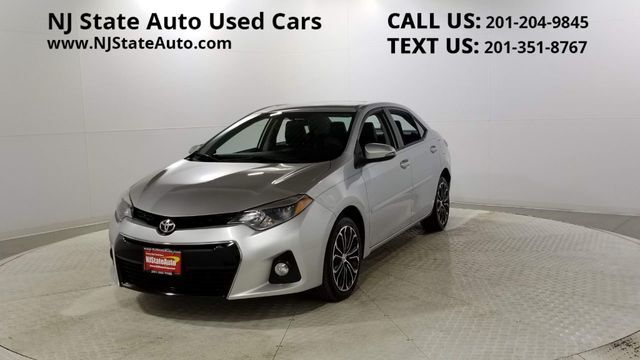 2015 Toyota Corolla 4dr Sedan Manual S Plus Jersey City NJ
