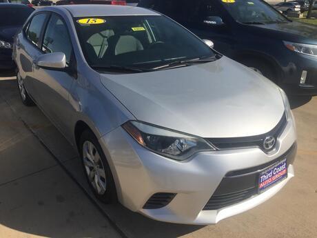 2015 Toyota Corolla L 4-Speed AT Austin TX