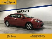2015_Toyota_Corolla_LE ** Heated Seats** No Accidents** Tinted Windows**_ Winnipeg MB