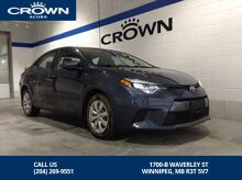 2015_Toyota_Corolla_LE ** Includes Winter Tires and Rims ** Low Kms **_ Winnipeg MB